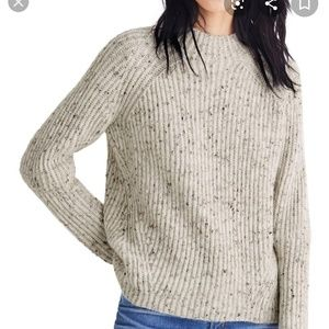 Madewell Northfield Donegal Mockneck Sweater